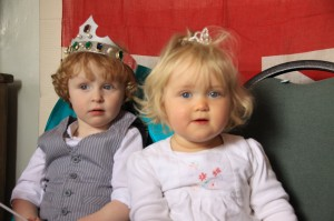 Prince Oliver and Princess Miriam of Sheldon