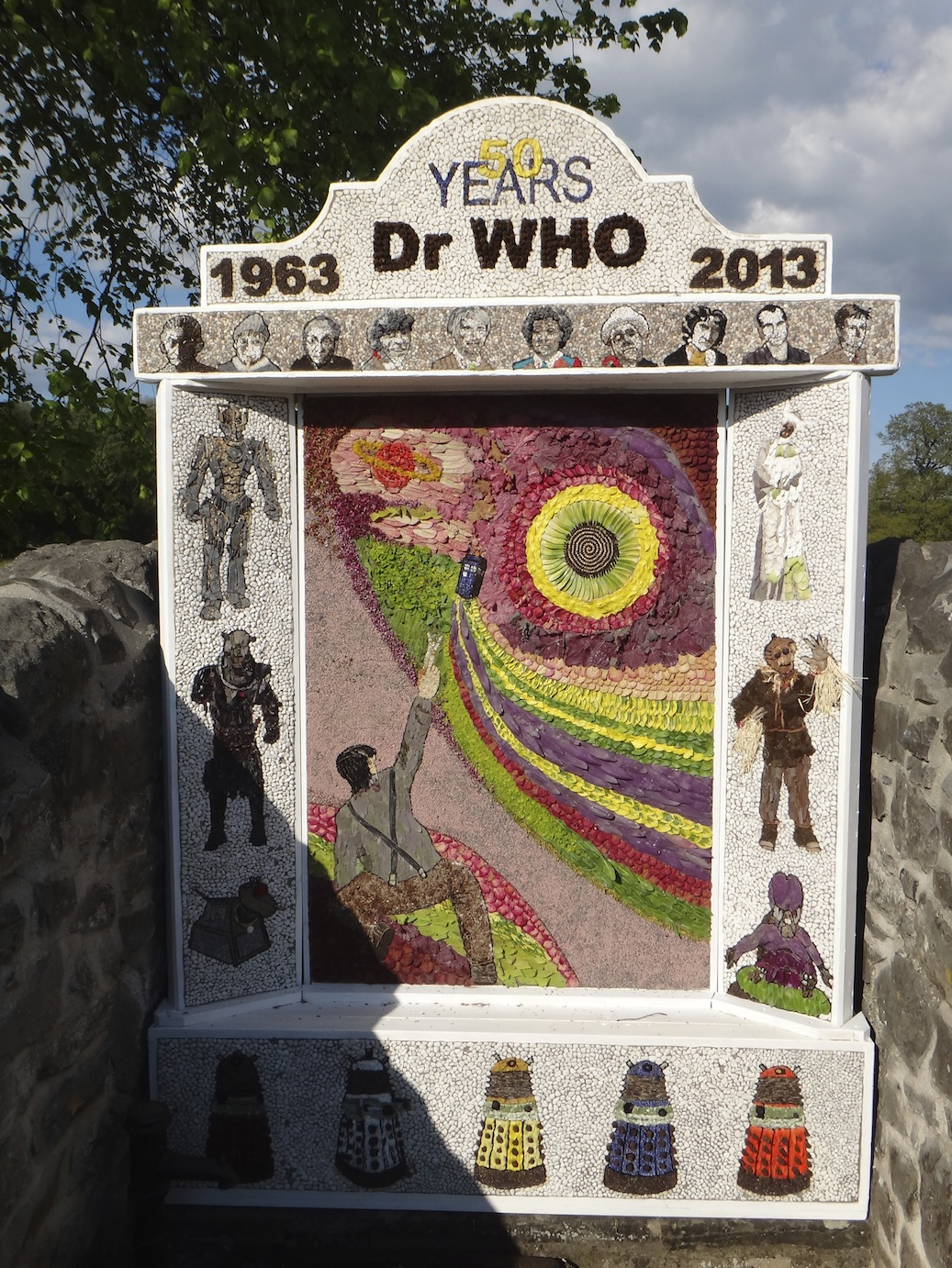 Celebrating 50th Anniversary of Doctor Who.