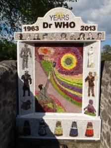 Dr Who Well Dressing 2013